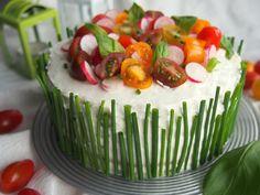 UnSandwich cake saumon fumé concombre, frais et léger pour un apéritif dinatoire ou un picnic chic !
