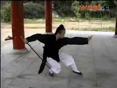 Wudang Seven Star Sword 七星剑Absolutely fabulous performance by Wudang Taoist Priest Chen Shixing...I am in love.