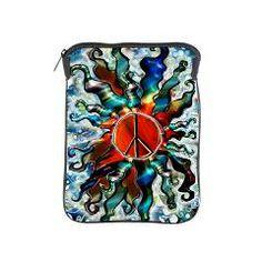 Peace Sun (e) iPad Sleeve> Cases, Sleeves and Covers ... Oh My!> Flawn Ocho