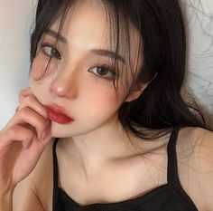 Uzzlang Makeup, Cute Makeup, Girls Makeup, Pretty Makeup, Korean Makeup Look, Asian Eye Makeup, Korean Beauty, Asian Beauty, Asian Makeup Looks