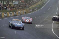 Le Mans 24 Hour Race, France, 1967. The Renault Alpine 210 of Henri ...