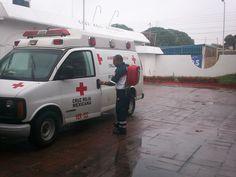 Cruz Roja Mexicana, Delegación Tierra Blanca, Veracruz. Mochila Bolus Statpack lista para trabajar. EMS México     Equipando a los Profesionales