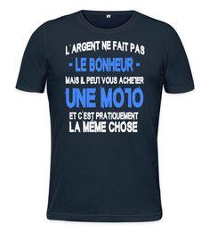 T-Shirt Motard Heureux - Teevente - 2