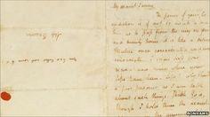 Keats love letter to Fanny Brawne.  <3