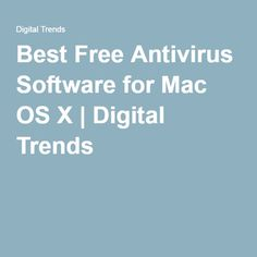 best virus protection for mac os x