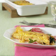 ESSEN & TRINKEN - Spinatpfannkuchen Rezept