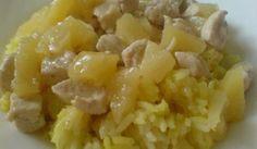 Kuracie mäso s ananásom