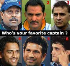 #Who's your #favorite  #Captain ?  #KapilDev #MohammadAzharuddin #SunilGavaskar #MSDhoni #SachinTendulkar #SouravGanguly  #paywise  #Recharge your #Cellphone at www.paywise.co.in