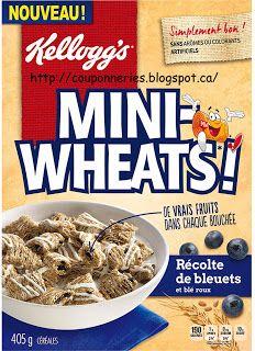 Coupons et Circulaires: 1$ sur les céréales Mini-Wheats