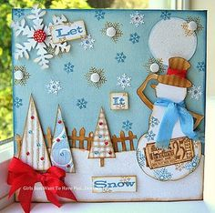 Christmas Canvas by kath in westhill, via Flickr