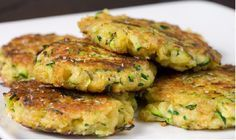 Taste this Authentic Italian Recipe, Potato&Zucchini Medallions are a tasty main dishes and they are made with. Zucchini Crab Cakes, Zucchini Patties, Zucchini Pancakes, Zucchini Burgers, Cucumber Recipes, Veggie Recipes, Vegetarian Recipes, Cooking Recipes, Potato Cakes