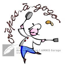 Chef a Gogo (logo) -  Lion, France, 2008 #graphicdesign #concept #illustration by Andrea Bressan