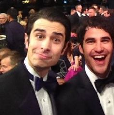 Joey Richter and Darren Chris being adorable. Team starkid