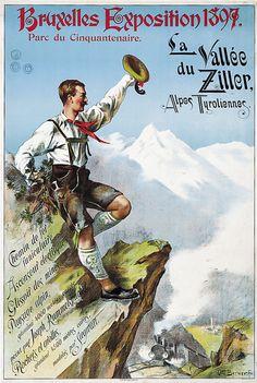 Austria,Tyrol, Zillertal, Otto Berner