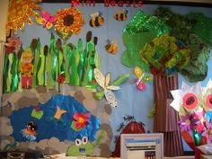 A super Minibeasts classroom display photo contribution. Great ideas for your classroom!