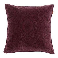 Discover the Gant Tiffany Velvet Cushion - 50x50cm - Purple Fig at Amara