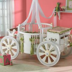 Kayla's future Cinderella crib. I love it!