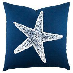 Sanibel Pillow  starfish love!