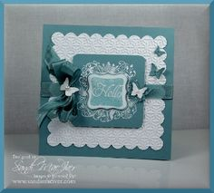 elementary elegance stamp set from stampin up, card by sandi maciver