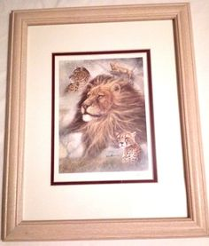 Framed Safari Themed Limited Edition Home Decor Signed Ruane Manning Home Decor Signs, Pictures To Paint, Limited Edition Prints, Safari, Paintings, Art Prints, Frame, Ebay, Art Impressions