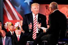 """Donald Trump deci que """"Putin es mejore leader que Obama"""""""
