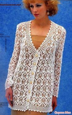 Diy Crafts - Fabulous Crochet a Little Black Crochet Dress Ideas. Georgeous Crochet a Little Black Crochet Dress Ideas. Crochet Bolero, Cardigan Au Crochet, Pull Crochet, Gilet Crochet, Mode Crochet, Crochet Coat, Crochet Jacket, Crochet Cardigan, Crochet Clothes