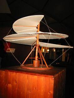 Leonardo da Vinci machines - helicopter