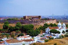 Castro Marim in East Algarve Portugal, border of Spain