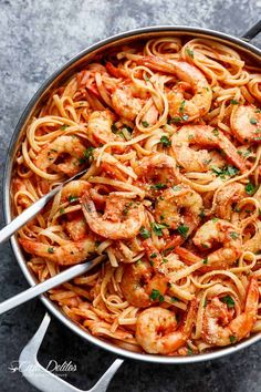 15-Minute Creamy Tomato Garlic Butter Shrimp - Cafe Delites Shrimp Recipes For Dinner, Shrimp Pasta Recipes, Shrimp Dishes, Seafood Recipes, Cooking Recipes, Healthy Recipes, Pasta Dishes, Healthy Food, Ground Beef Recipes