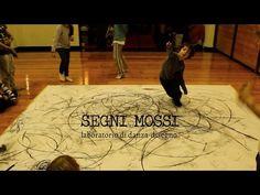 Segni mossi, laboratorio di danza-disegno 3 - YouTube - http://alessandrolumare.blogspot.it/