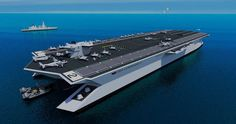 Trimarin Aircraft Carrier