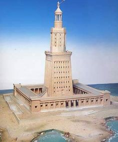 Lighthouse of Alexandria, Egypt