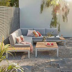 Corner Sofa Outdoor, Corner Sofa Set, Outdoor Sofa Sets, Outdoor Dining Set, Outdoor Lounge, Outdoor Seating, Outdoor Furniture Sets, Garden Seating, Furniture Ideas