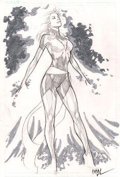 Phoenix by Ivan Reis Comic Art