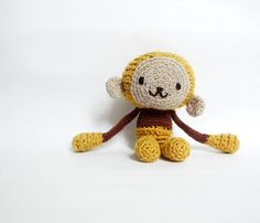 Reserved listing Crocheted Mustard Yellow by WereRabbit2006