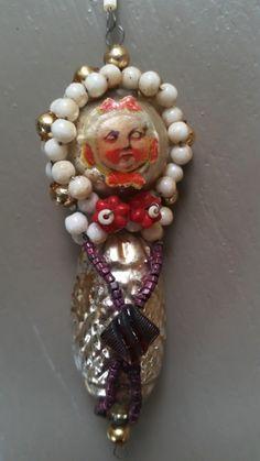 Böhmischer nostalgischer Weihnachtsschmuck :: Liz-sab-graz Christmas Ornaments, Holiday Decor, Handmade, Vintage, Home Decor, Christmas Jewelry, Graz, Hand Made, Decoration Home