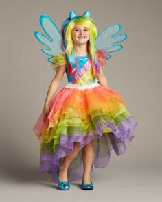 My Little Pony Rainbow Dash Costume for Girls