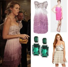 Blake Lively with Martine Wester Earrings