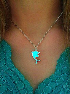 5 Seconds of Summer - 5sos Necklace - Glow in the Dark Necklace - Dolphin…