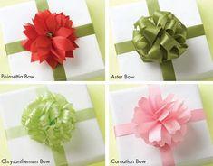 Técnicas para hacer moños de regalo : cosascositasycosotasconmesh