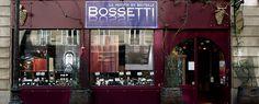 Caves Bossetti  34, rue des Archives  75004 PARIS  Tél. : 01 48 04 07 77  Horaires : Du Lundi au Samedi  10h00/13h15-14h30/19h15