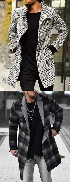 Mens Fall Outfits, Mens Smart Casual Outfits, Blazer Outfits Men, Black Men Street Fashion, Men Fashion, Mode Costume, Herren Outfit, Winter Fashion Casual, Winter Mode
