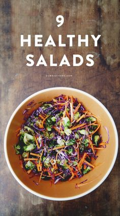 9 healthy salads to try this spring