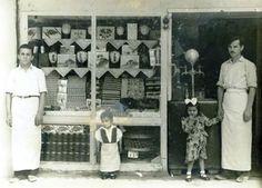 Şekerci Dükkanı önü (1950ler) #birzamanlar #nostalji #istanlook