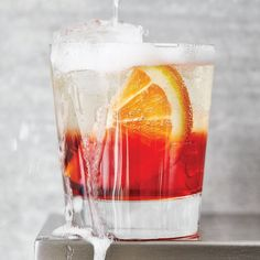 It's not just made with Aperol. Those bubbles go with a lot of things.