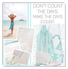 """Don't count the days, make the days count."" by queenrachietemplateaddict ❤ liked on Polyvore featuring Alberta Ferretti, River Island, Antonello, Prada and Ted Muehling"