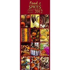 Kitchen & Spices 2012 Vertical Wall Calendar