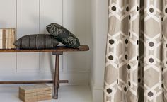 Hallway Inspiration. The Avebury Fabric Collection.