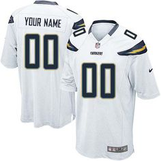 dbec5d440bb Nike San Diego Chargers Customized White Stitched Elite Youth NFL Jersey  Baseball Jerseys, Football Boots