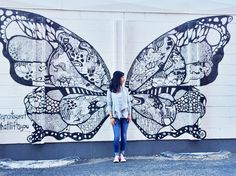 Denver street art. #whatliftsyou artist: Kelsey Montague
